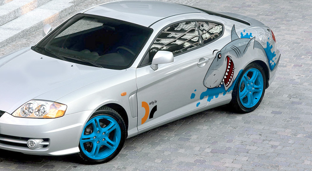 shark coupe