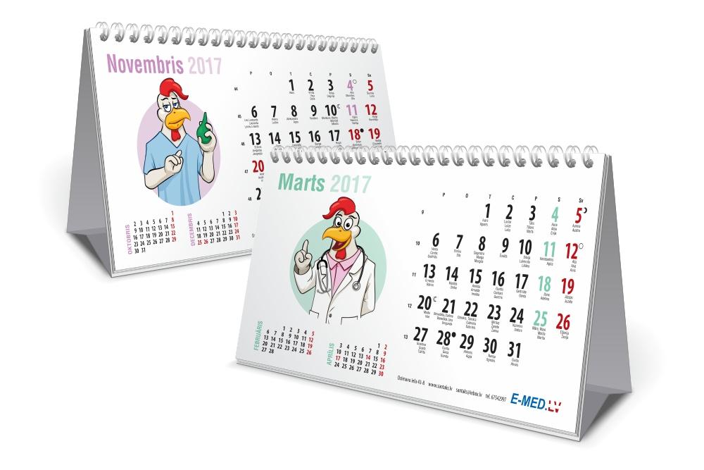 E-med Calendar 2017