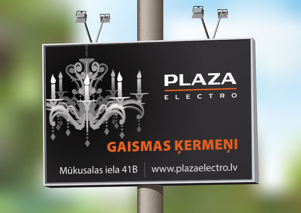 PLAZA Billboard